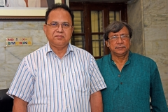 With the Vice Chancellor of Kazi Nazrul University Sri Sadhan Chakraborty